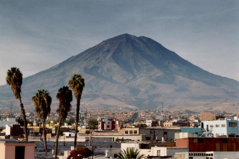 Découvrez la ville de Arequipa dans la région côtière du sud du Pérou
