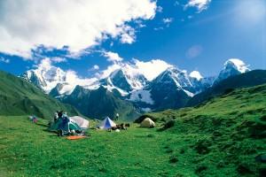 Ancash perou camping
