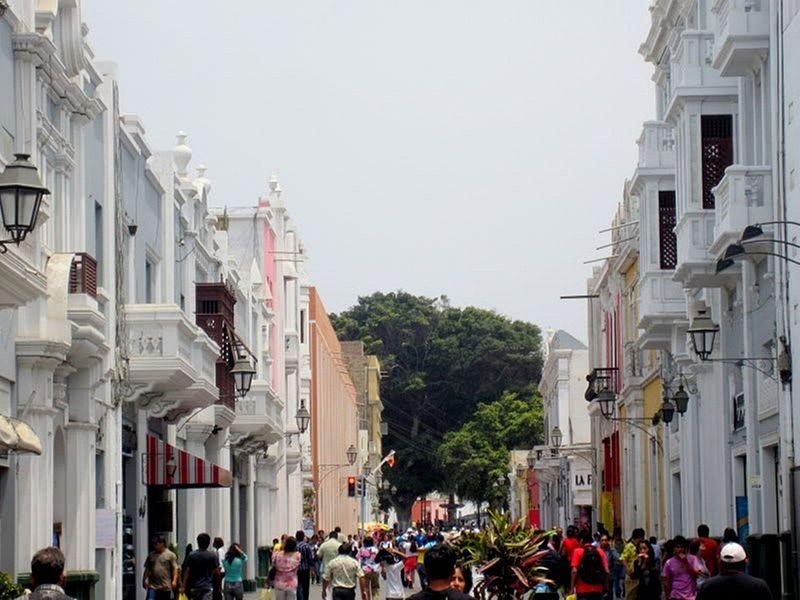 Trujillo, une ville du nord-ouest du Pérou, très proche de la côte du Pacifique
